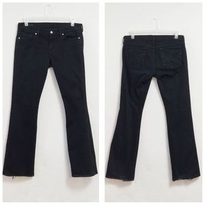 Citizens Of Humanity High Rise Amber Black Jeans